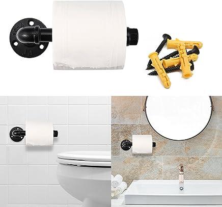 Porte-Rouleau de Papier Toilette WC pour Salle de Bain ...