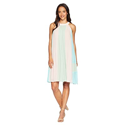 CATHERINE Catherine Malandrino Arore Dress (Pink/Lime/Angel Blue) Women
