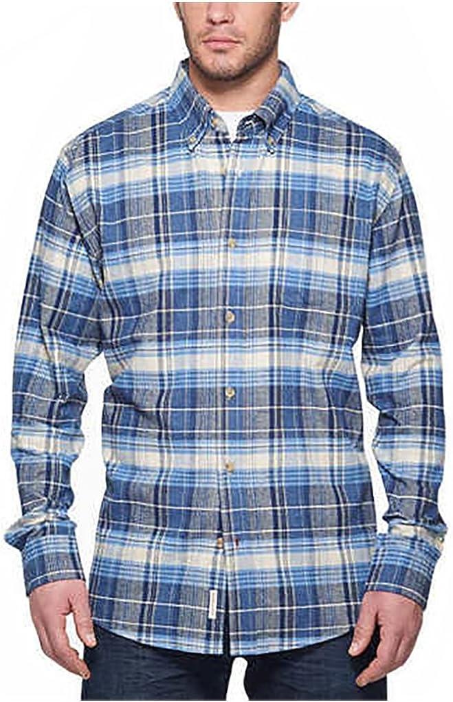 Weatherproof Men's Tall - Vintage Plaid Flannel Shirt