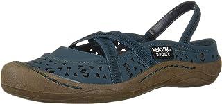 MUK LUKS Women's Erin Sport Shoe-Turquoise Sandal