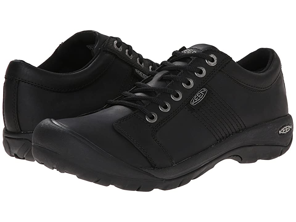 Keen Austin (Black) Men's Shoes