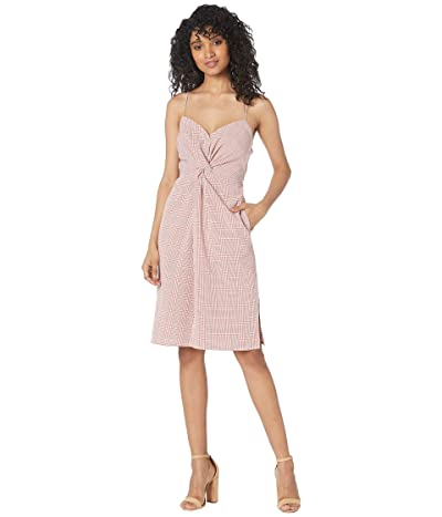 ASTR the Label Max Dress (Brick/White) Women