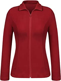 Women Fit Ultra Soft Warm Lightweight Coat Full Zip...