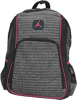 Boys Black & Red 23 Backpack (Black)