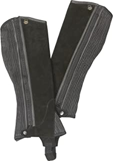 Ovation - Child Suede Ribbed Half Chaps