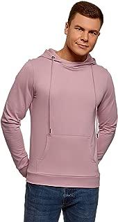 oodji Ultra Men's Basic Hoodie with Pocket
