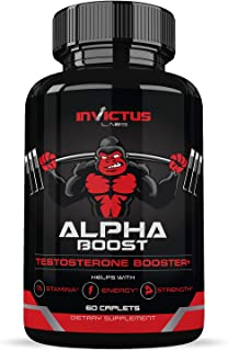 Extra Strength Testosterone Booster for Men (60 Caplets) | Natural Endurance, Stamina and Strength Booster | Build Muscle ...