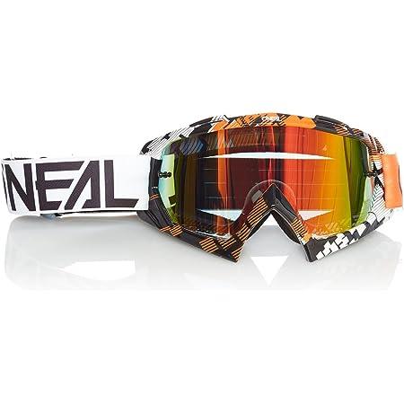O Neal Fahrrad Brille Motocross Brille Mx Mtb Dh Fr Downhill Freeride Hochwertige 1 2 Mm 3d Linse Für Ultimative Klarheit Uv Schutz B 10 Goggle Erwachsene Unisex Orange Weiß One Size Amazon De