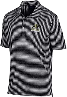 Men's University of Colorado Buffaloes Polo Striped Staduim Stripe Polo