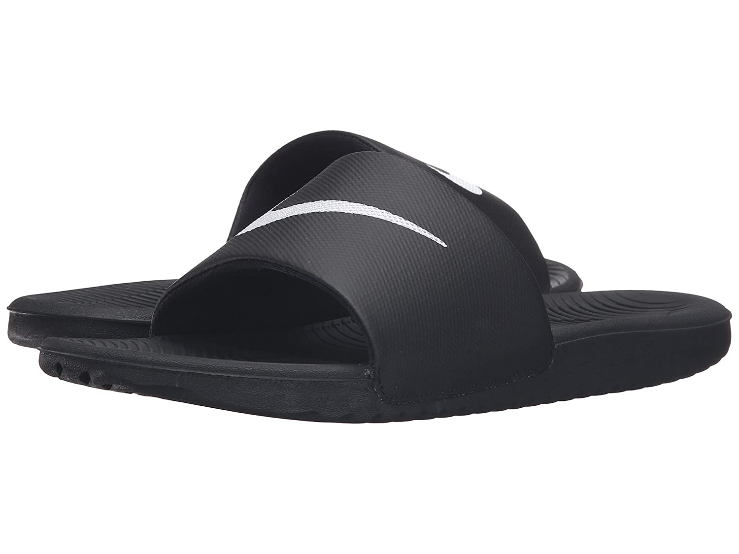 (ナイキ) NIKE メンズサンダル?靴 Kawa Slide Black/White 9 (27cm) D - Medium