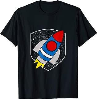 Fun Spacecraft Astronaut Space Pilot Commander Gift Idea T-Shirt