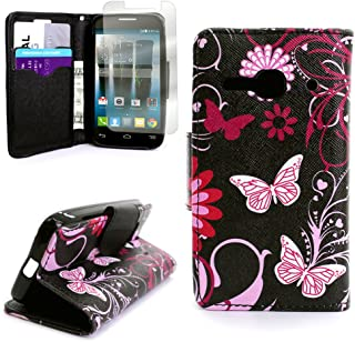 alcatel one touch evolve wallet case