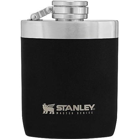 STANLEY(スタンレー) 新ロゴ マスターフラスコ 0.23L マットブラック スキットル ギフト ウイスキー 02892-032 (日本正規品)