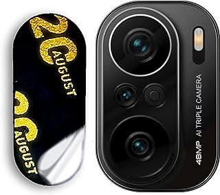 لهاتف شاومي بوكو اف3 لاصقة حماية شفافة للكاميرا ضد الصدمات من النانو جلاس المقوي