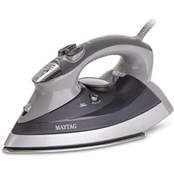 Maytag M400 Steam Iron, M400-SpeedHeat, Grey
