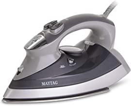 Maytag M400 Speed Heat Steam Iron & Vertical Steamer with Stainless Steel Sole Plate,..