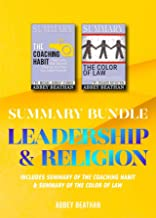 Summary Bundle: Leadership & Religion: Includes Summary of The Coaching Habit & Summary of The Color of Law