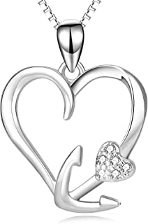Best heart and anchor necklace Reviews