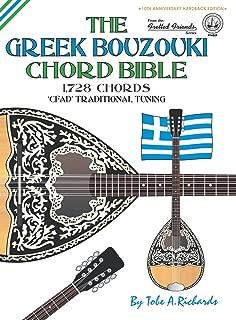 The Greek Bouzouki Chord Bible: CFAD Standard Tuning 1,728 Chords (Fretted Friends Series)