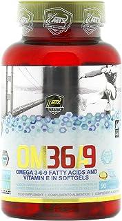 OMEGA 3-6-9 90 Perlas - Ácidos Grasos Esenciales Omega 3 y Vitamina E en perlas
