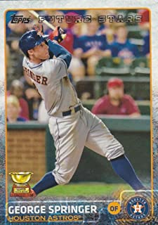 Houston Astros 2015 Topps MLB Baseball Regular Issue Complete Mint 25 Card Team Set with Jose Altuve, George Springer Plus