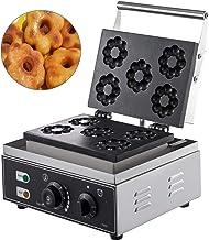 VEVOR Machine à Beignets Eletrique 5 Trous Appareil à Donuts Commercial Machines à Cupcakes