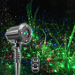 Poeland Christmas Projector Light, Moving Model, RGB (Red, Green, Blue)