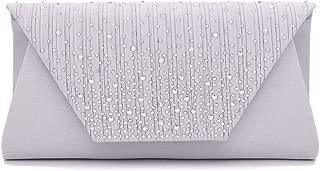Evening Bag for Women, Envelope Clutch Purses Sparkling Party Handbag Wedding Crossbody Bag Purse