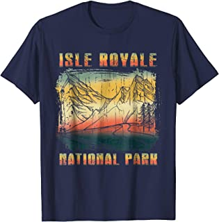 Isle Royale National Park Shirt Vintage tee