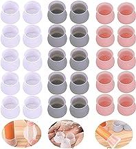 ZQSTUDIO Pack van 40 Meubelpads Stoel Been Caps Antislip Meubels Tafel Vloer Voeten Cover Protector Anti Noisy Anti-Schuri...