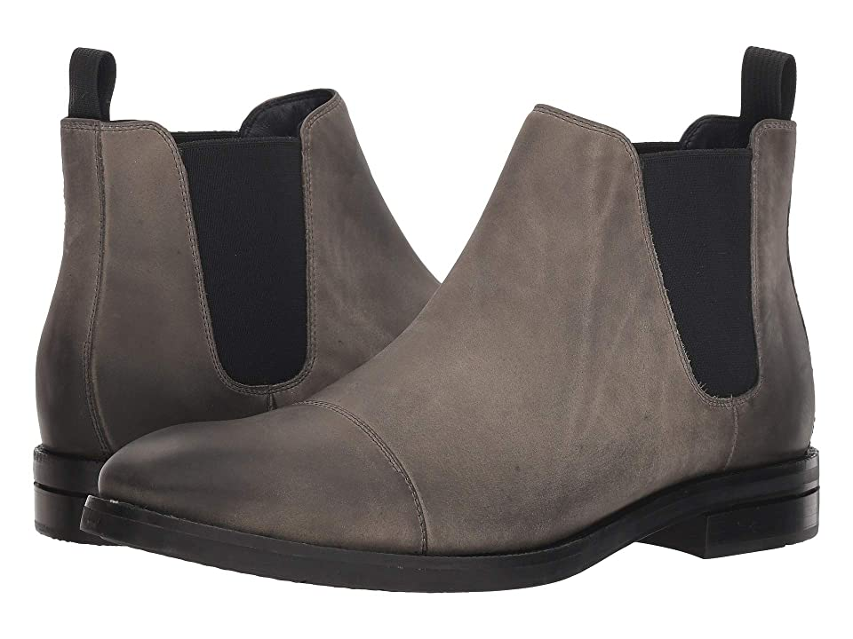 Cole Haan Wagner Grand Chelsea Boot (Midnight Grey Nubuck) Men