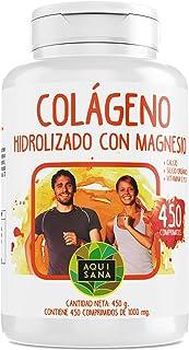 Colágeno Hidrolizado - Aquisana con Magnesio y Calcio |