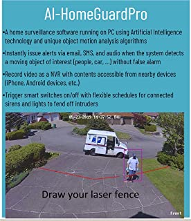 AI-HomeGuardPro Surveillance Software Using Artificial Intelligence Technology and Smart Switches to Protect Your Home and Loved Ones