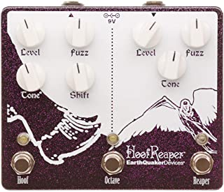 EarthQuaker Devices Hoof Reaper V2 Octave Fuzz, Limited Edition Purple Sparkle