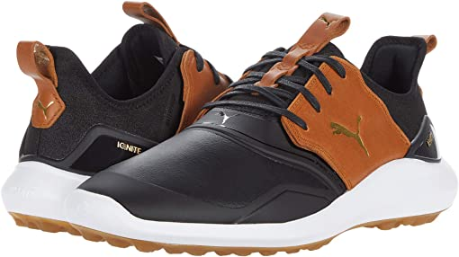Puma Black/Leather Brown/Puma Team Gold