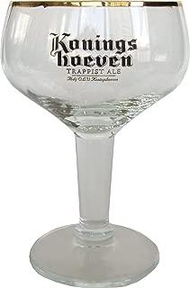 Konings Hoeven Dutch Trappist Ale Craft Beer Glass Goblet Chalice La Trappe Gold De Koningshoeven Brewery