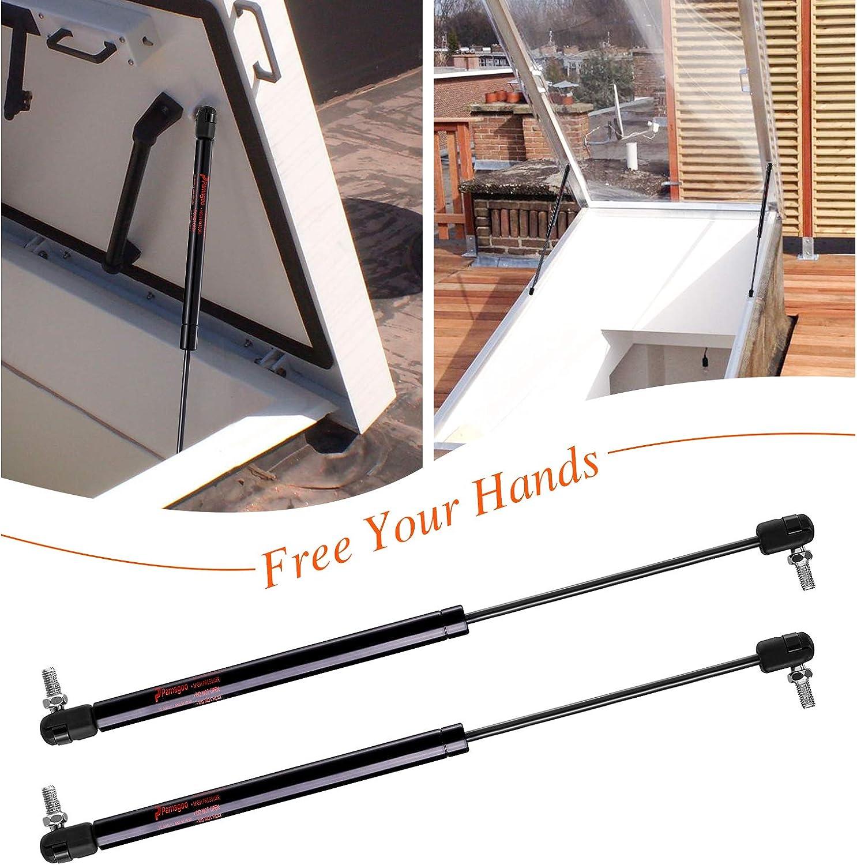 Set of 2 by Pamagoo 60Lbs//267N Per Lift Support Basement-Door 20 Gas Spring Struts C16-08260 For RV-Door//Bed