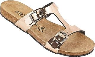 012-294 Biochic Ladies Sandals Metallic Gold