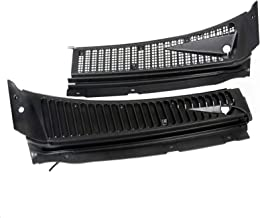 Windshield Wiper Vent Cowl Screen Cover Grille Panel For Ford 99-07 F250 F350-Direct replacement for # 3C3Z-25022A68-AAA & 4C3Z-25022A69-AAA