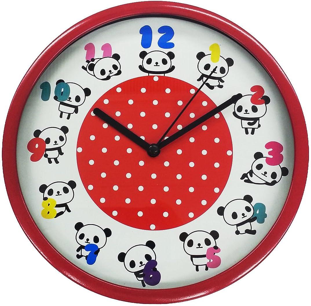 ツイン 掛け時計 パンダ K JT011