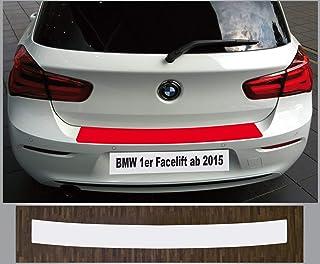is tuning passgenau für BMW 1er F20, F21, ab 2015, Lackschutzfolie Ladekantenschutz transparent