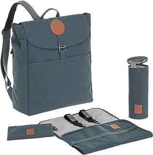 LÄSSIG Babyluierrugzak luiertas babytas stijlvolle tas incl. luieraccessoire/Backpack Adventure, petrol