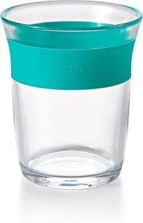 OXO Tot Cup for Big Kids with Non Slip Grip, Teal