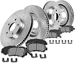 Callahan CDS02564 FRONT 298mm + REAR 298mm D/S 5 Lug [4] Rotors + Brake Pads + Clips [fit 1963-1982 Corvette C2 C3]