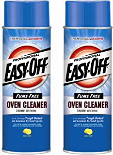 Easy Off Professional Fume Free Oven Cleaner Aerosol, 24 oz, 2 Count