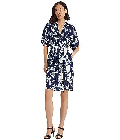LAUREN Ralph Lauren Short Sleeve Day Dress