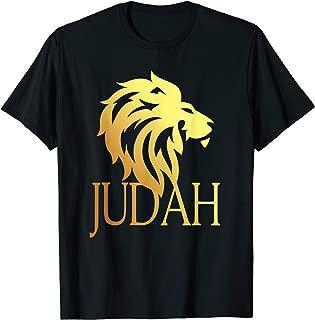 Tribe Of Judah Lion T-Shirt Messianic Yahshua Israelites Tee