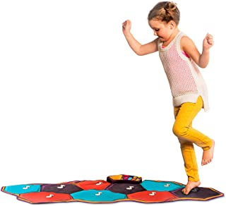 """B. toys by Battat Floor Piano Mat – Electronic Dance Floor Keyboard For Kids – Musical Playmat – 26"""" X 54.6"""" Foldable Play..."""
