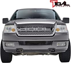 Tidal Front F150 Replacement Grille Upper Full Chrome Grill for 04-08 Ford F-150
