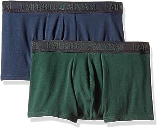 Emporio Armani Men's Endurance 2-Pack Trunk